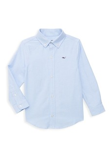 Vineyard Vines Little Boy's & Boy's Long Sleeve Cotton Shirt