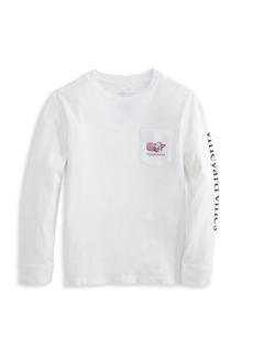 Vineyard Vines Little Boy's & Boy's Long-Sleeve Logo T-Shirt