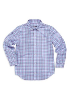 Vineyard Vines Little Boy's & Boy's Morgan Flannel Shirt