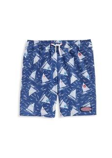 Vineyard Vines Little Boy's & Boy's Printed Swim Shorts