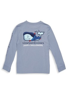 Vineyard Vines Little Boy's & Boy's Vampire Whale Long-Sleeve Shirt
