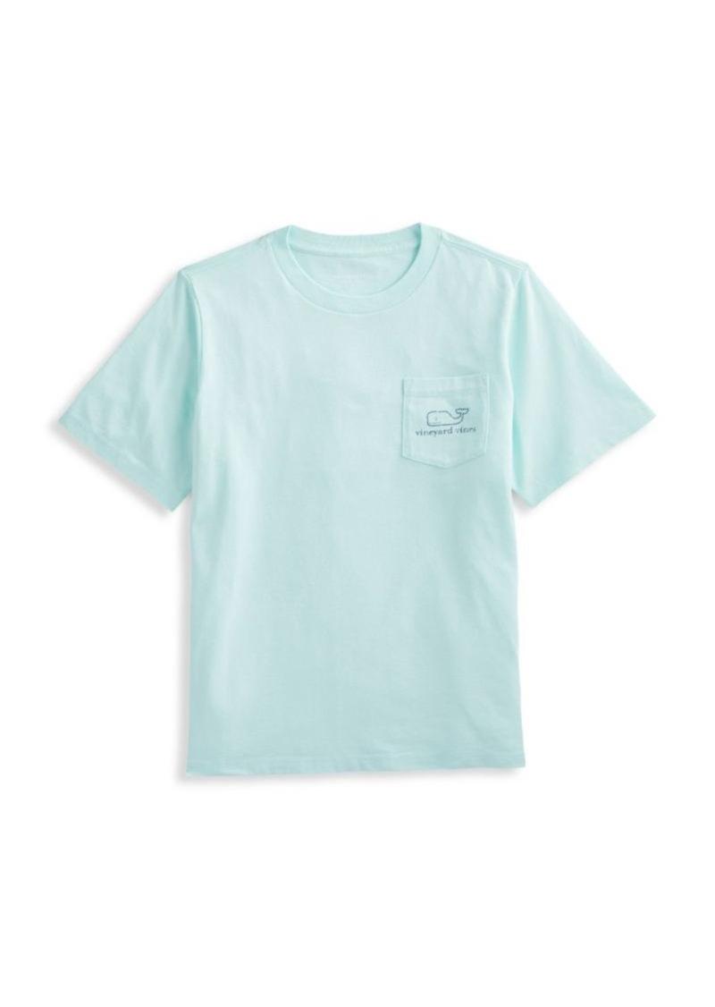 Vineyard Vines Little Boy's & Boy's Whale Pocket Cotton T-Shirt