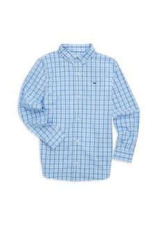 Vineyard Vines Little Boy's & Boy's Whale Shirt
