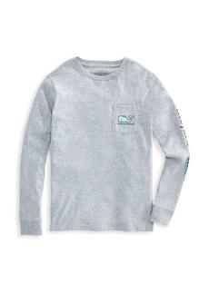 Vineyard Vines Little Boy's & Boy's Zombie Whale Pocket T-Shirt