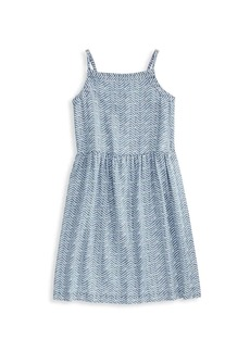 Vineyard Vines Little Girl's & Girl's Chambray Smocked Dress