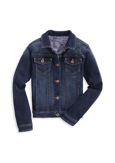 Vineyard Vines Little Girl's & Girl's Denim Jacket