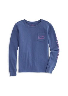 Vineyard Vines Little Girl's & Girl's Glow in the Dark Long-Sleeve Top