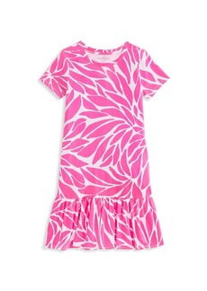 Vineyard Vines Little Girl's & Girl's In Full Bloom Knit T-Shirt Dress
