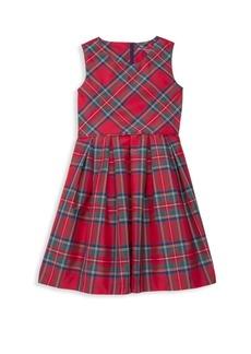 Vineyard Vines Little Girl's & Girl's Jolly Sleeveless Plaid Dress