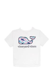 Vineyard Vines Little Girl's & Girl's Multi-Whale Cotton Tee