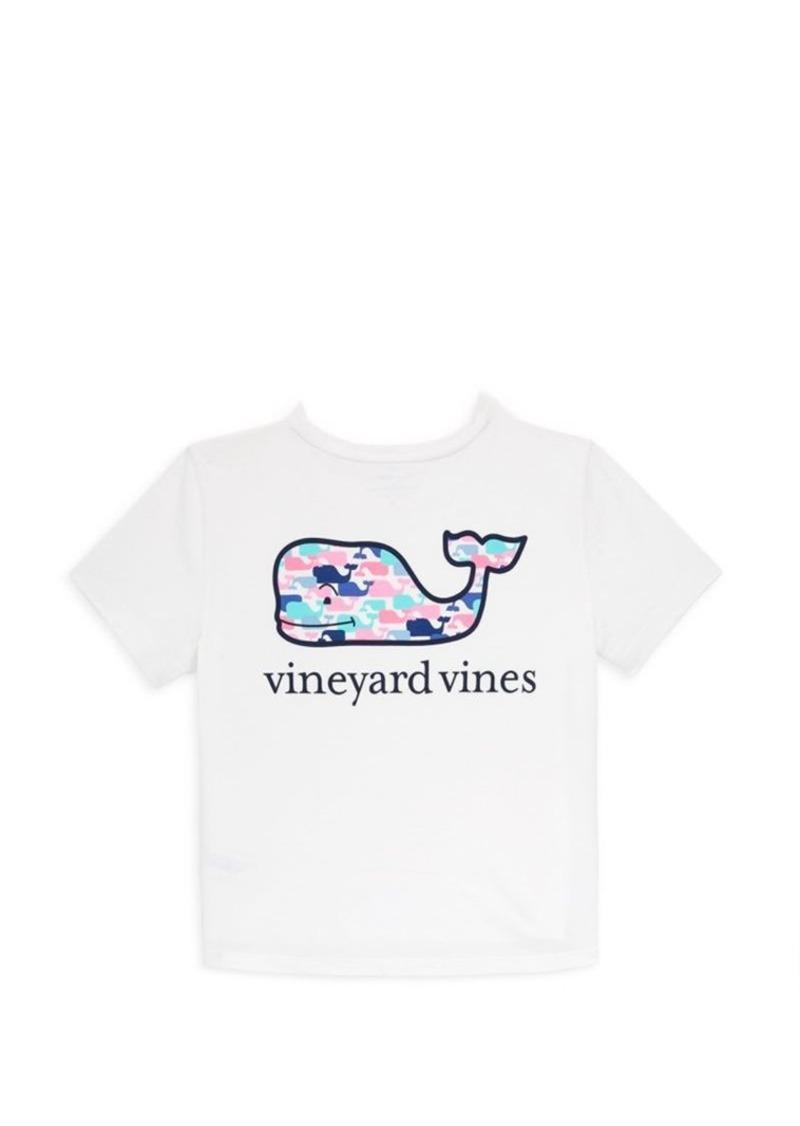 464bcc2b66e0 Vineyard Vines Little Girl s   Girl s Multi-Whale Cotton Tee