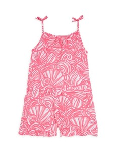Vineyard Vines Little Girl's & Girl's Nautilus Shell Print Romper
