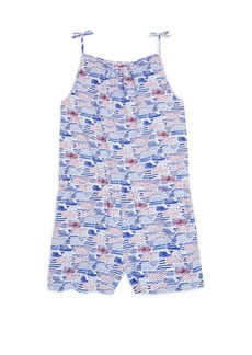 Vineyard Vines Little Girl's & Girl's Print Romper