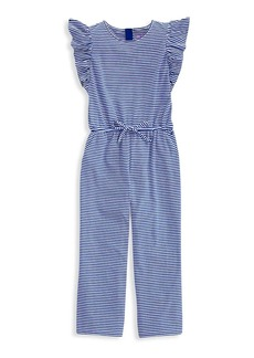Vineyard Vines Little Girl's & Girl's Ruffle Jumpsuit