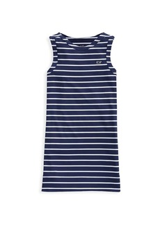 Vineyard Vines Little Girl's & Girl's Sankaty Striped Tank Dress