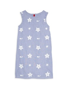 Vineyard Vines Little Girl's & Girl's Stars & Whales Shift Dress