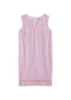 Vineyard Vines Little Girl's & Girl's Stripe Seersucker Shift Dress