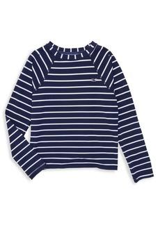 Vineyard Vines Little Girl's & Girl's Stripe T-Shirt
