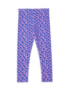 Vineyard Vines Little Girl's & Girl's Stripe Whale Leggings