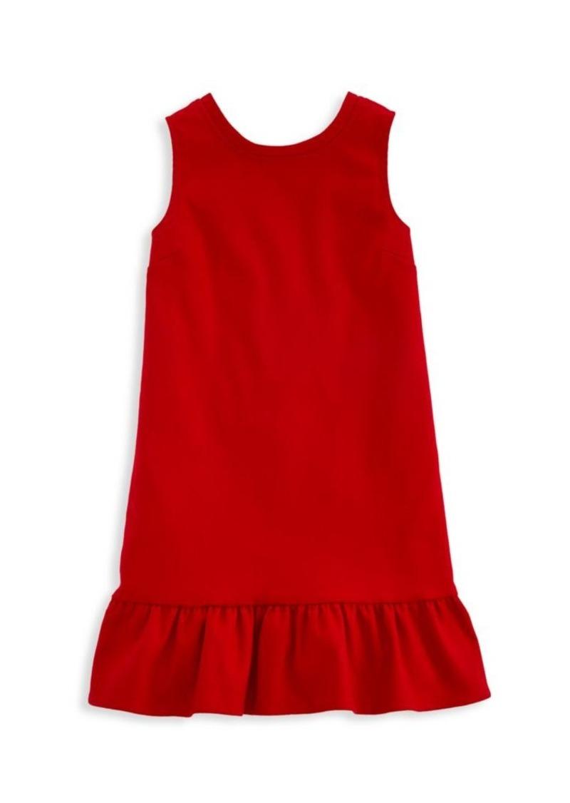 Vineyard Vines Little Girl's & Girl's V-Back Ponte Dress