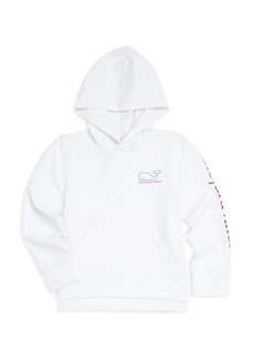 Vineyard Vines Little Girl's & Girl's Whale Graphic Hoodie