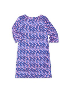 Vineyard Vines Little Girl's & Girl's Whale Print Dress