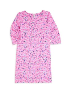 Vineyard Vines Little Girl's & Girl's Whale Swirl Dress