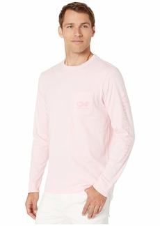 Vineyard Vines Long Sleeve BCA 2019 Pocket Tee
