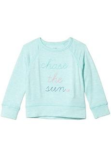Vineyard Vines Long Sleeve Chase the Sun Crew Neck Sweatshirt (Toddler/Little Kids/Big Kids)