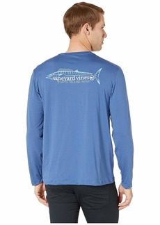 Vineyard Vines Long Sleeve Performance Catch Release Wahoo Tee