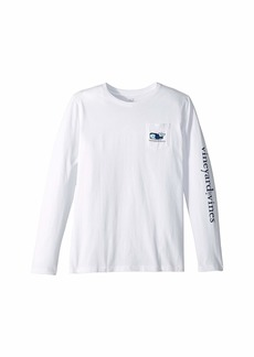 Vineyard Vines Long Sleeve Vampire Whale Tee (Toddler/Little Kids/Big Kids)