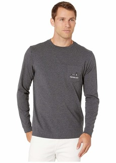 Vineyard Vines Long Sleeve Vineyard Fly Pocket Tee