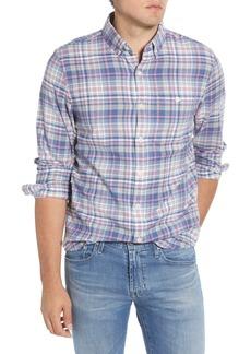 Vineyard Vines Longshore Slim Fit Plaid Button-Down Shirt
