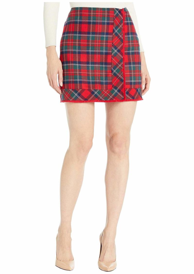Vineyard Vines Merry Plaid Skirt