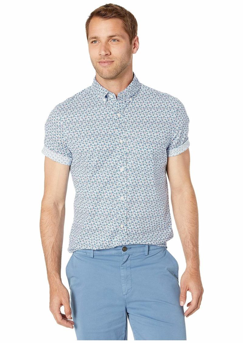 Vineyard Vines Mini Floral Short Sleeve Classic Murray Shirt