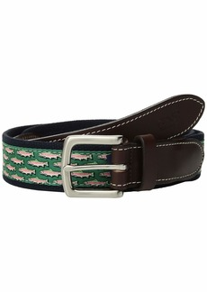 Vineyard Vines Mini Trout Canvas Club Belt