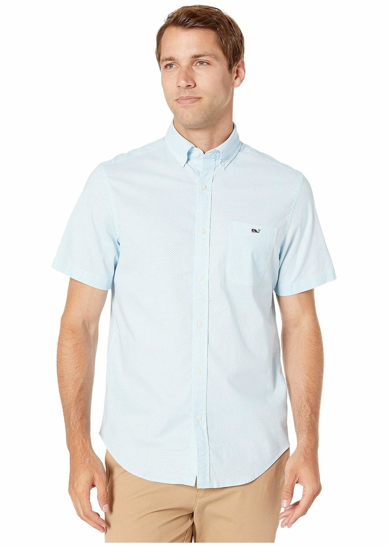 Vineyard Vines Mini Waves Short Sleeve Classic Tucker Shirt
