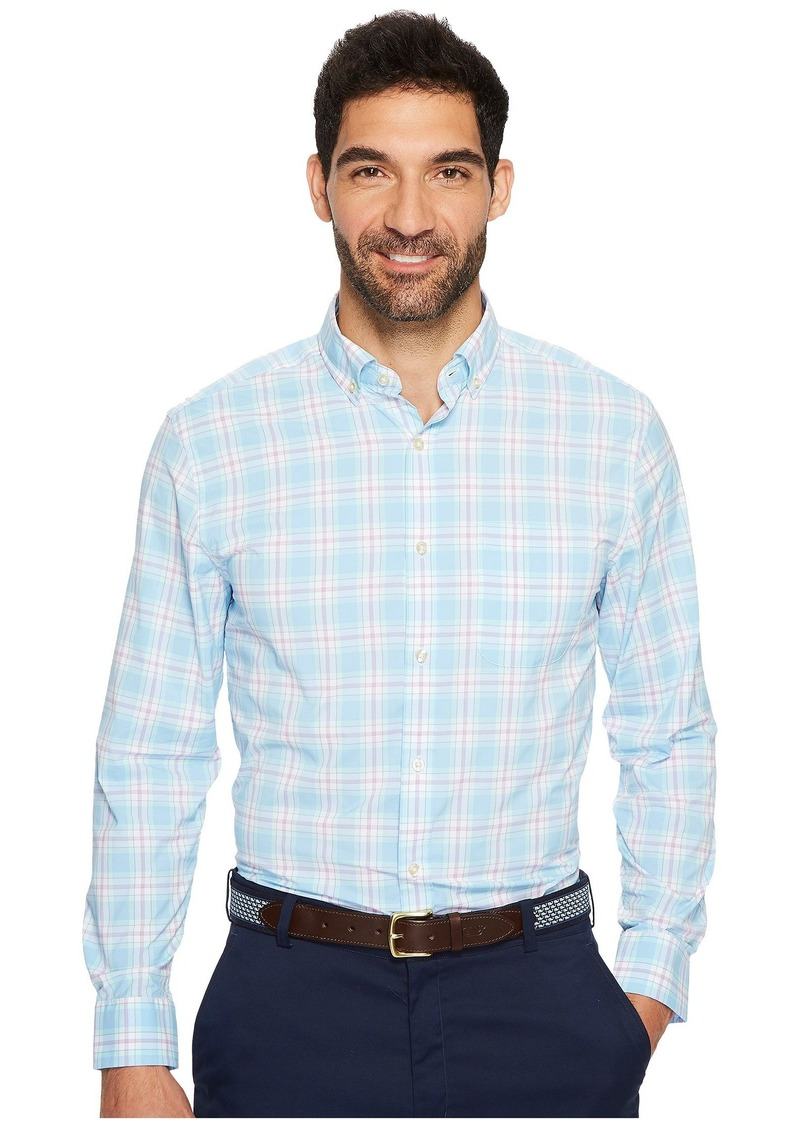 Vineyard Vines Montauk Point Plaid Classic Tucker Shirt
