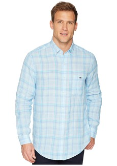 Vineyard Vines Moore's Island Plaid Classic Tucker