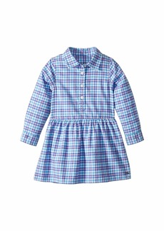 Vineyard Vines Morgan Way Flannel Dress (Toddler/Little Kids/Big Kids)