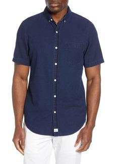 Vineyard Vines Murray Slim Fit Indigo Dobby Shirt