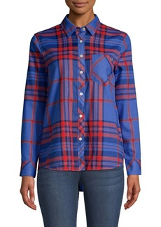 Vineyard Vines Northern Plaid Performance Button-Down Shirt