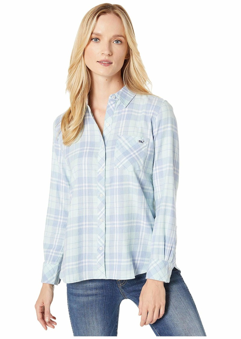 Vineyard Vines Pacific Plaid Relaxed Button-Down