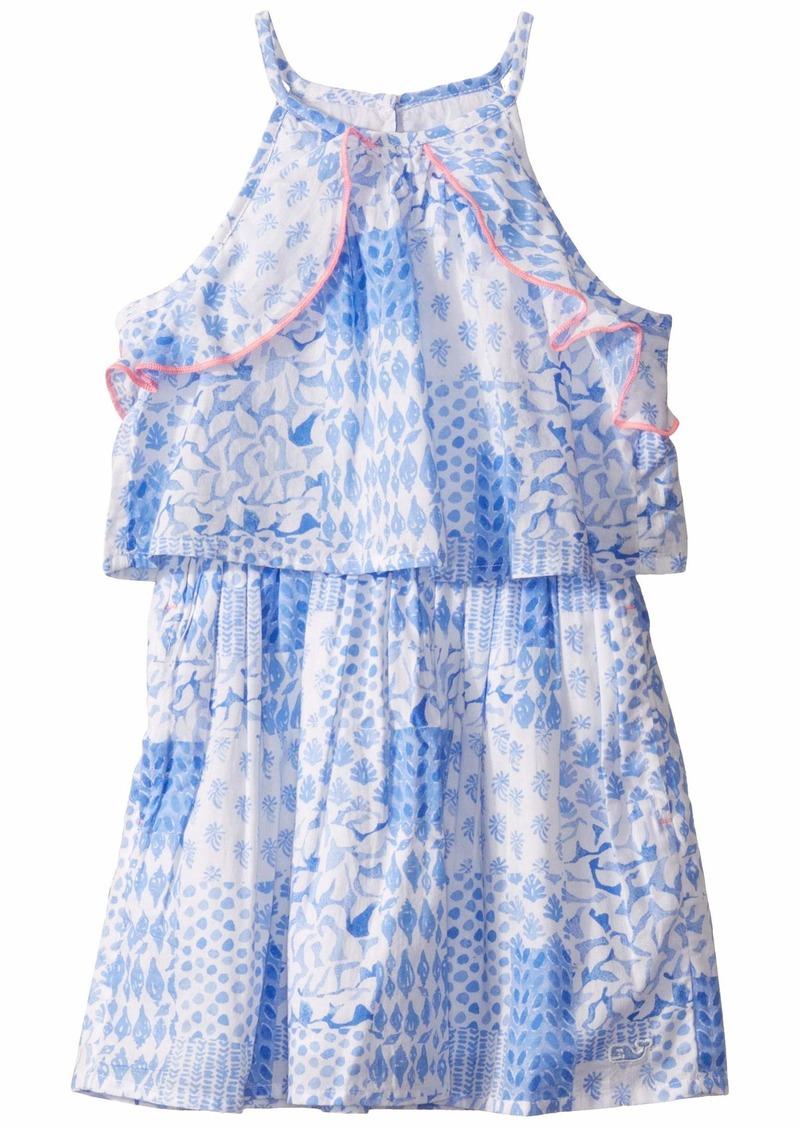 Vineyard Vines Painted Patchwork Halter Dress (Toddler/Little Kids/Big Kids)