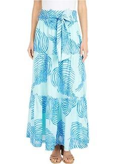 Vineyard Vines Palm Frond Maxi Skirt
