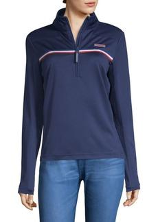 Vineyard Vines Performance Tennis Shep Half-Zip Sweater