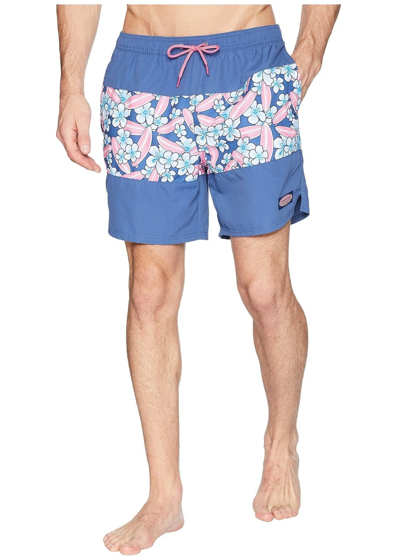 a79a963d0b On Sale today! Vineyard Vines Pieced Surfboard Chappy Swim Trunks