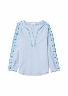 Vineyard Vines Pop Embroidered Savannah Top