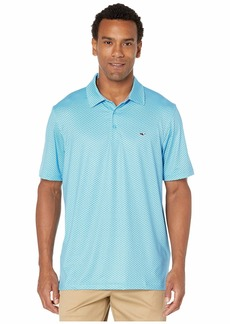 Vineyard Vines Printed Sankaty Polo