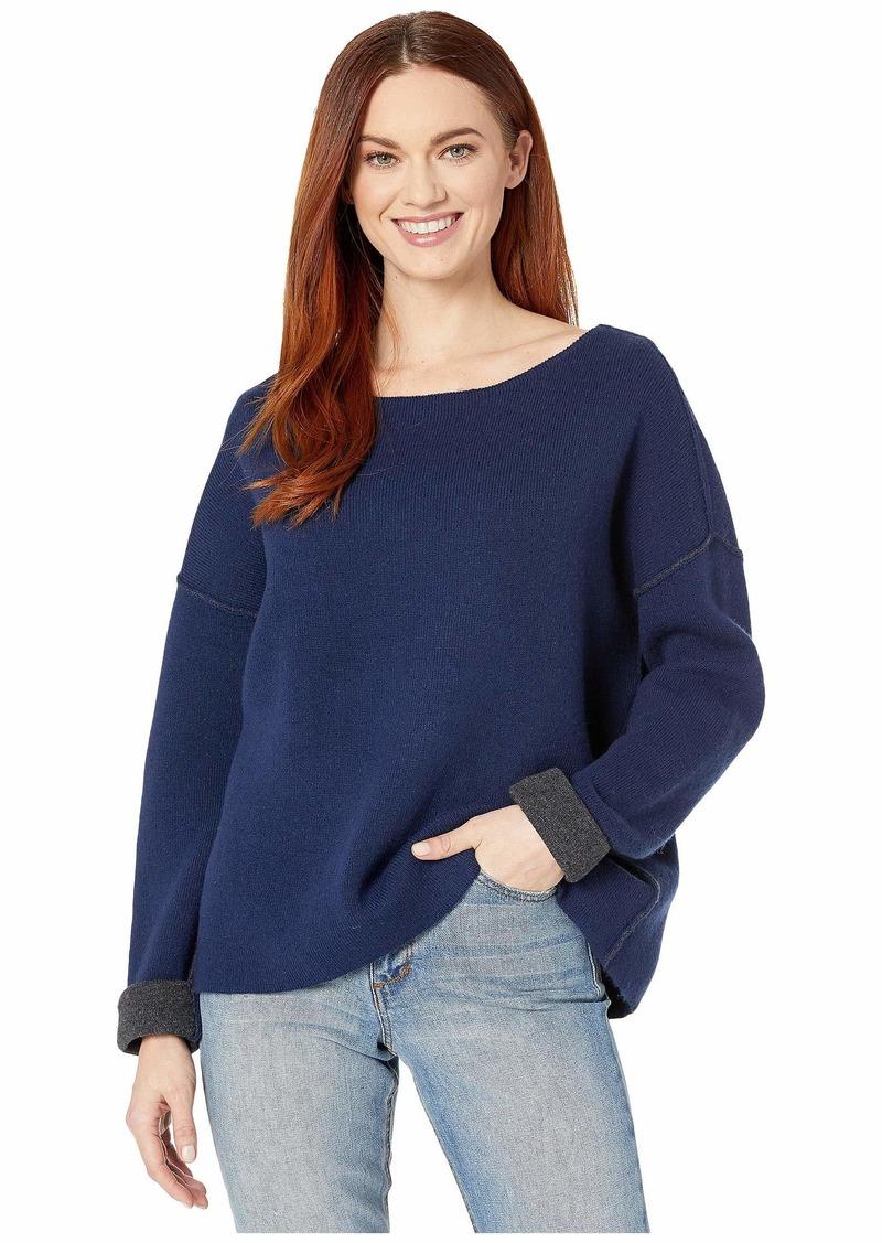 Vineyard Vines Reversible Boatneck Sweater